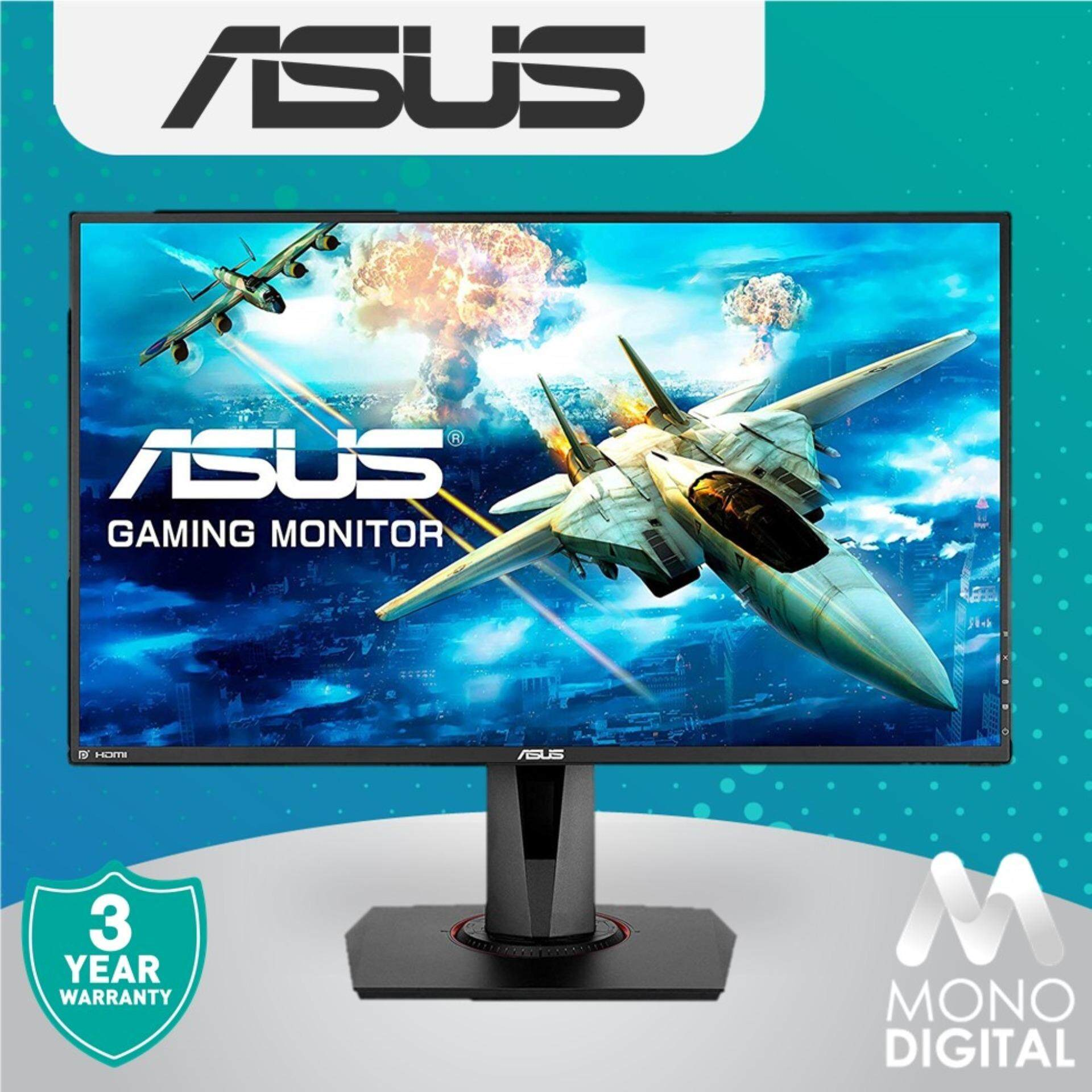 ASUS VG278QR Gaming Monitor - 27inch, Full HD, 0.5ms*, 165Hz, G-SYNC Compatible, Adaptive Sync Malaysia