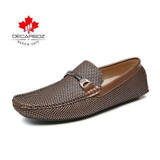 2020 Người Đàn Ông Giày Men Giày Đế Bằng Giày Giày Da Đanh Thời Trang Mùa Thu Sang Trọng Giày Lười Đế Bằng Nam Mới Thoải Mái Giày Thường Ngày Cho Nam thumbnail