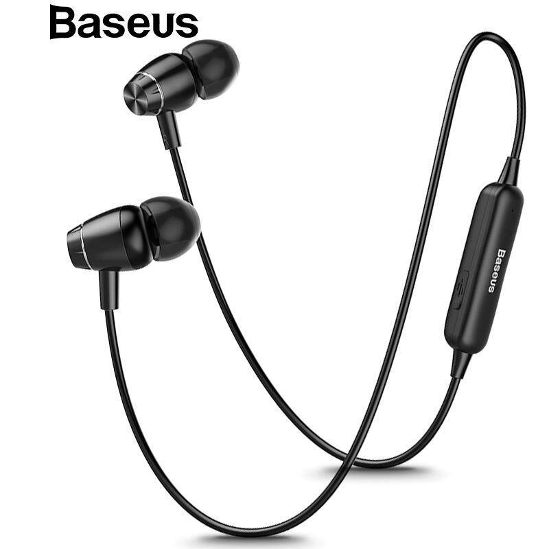 2eacf183670 Baseus S09 Bluetooth Earphone Wireless IPX5 Waterproof Earphones Magnet  Earbuds With Microphone Stereo Auriculares Bluetooth Earpiece