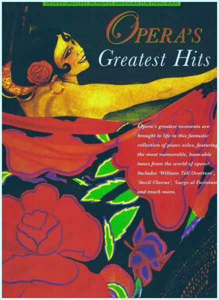 Operas Greatest Hits / Piano Book / Music Book Malaysia