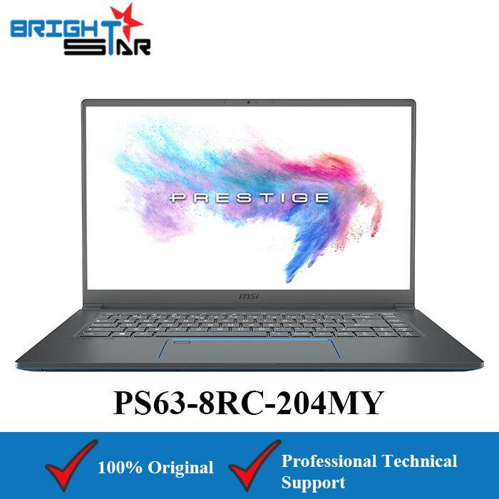 MSI PS63-8RC-204MY (Intel I7-8565U/16GB/512GB SSD/GTX1050 4GB/15.6inch) Malaysia