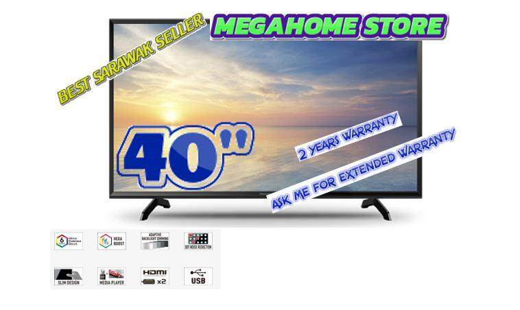 """PANASONIC 40"""" LED TV HEXA CHROMA DRIVE TH-40F400K"""