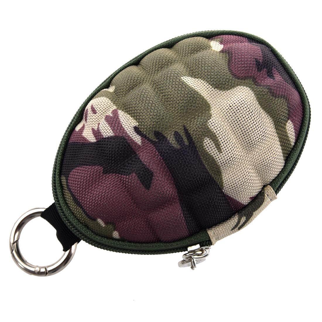 Camouflage Key & Coin Case Duck grenade / coin case / key case