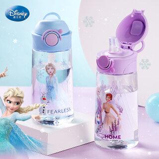 Bình Nước Đông Lạnh Disney Cho Trẻ Em Trẻ Em Cốc Uống Nước Hoạt Hình Cho Trẻ Mới Biết Đi Với Ống Hút Bình Sữa Elsa Olaf 280Ml 9.5Oz Không BPA thumbnail