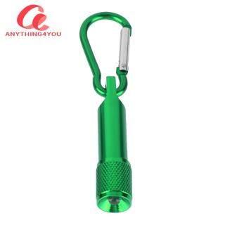 Đèn Pin Bỏ Túi Cắm Trại Ngoài Trời Siêu Sáng Đèn Pin LED Móc Đa Năng Mini thumbnail