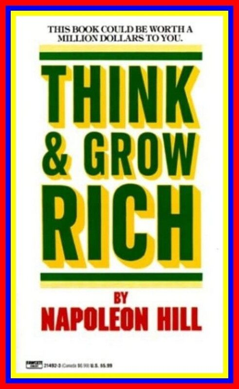 Think And Grow Rich Napoleon Hill Malaysia