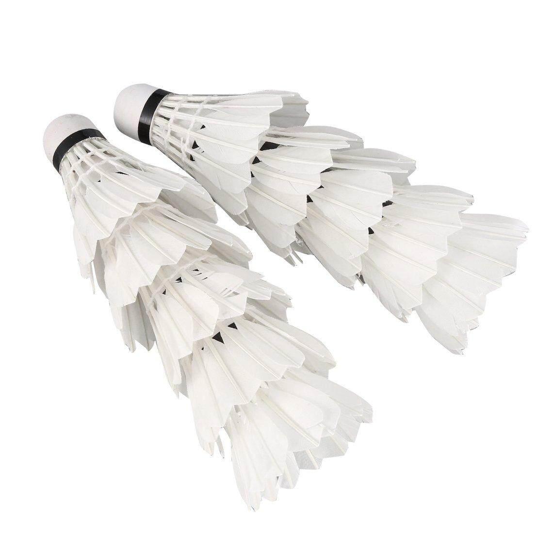 Best Discount 10 Pcs Led Light Badminton Foam Ball Head Goose Feather Seven-Color Gradient