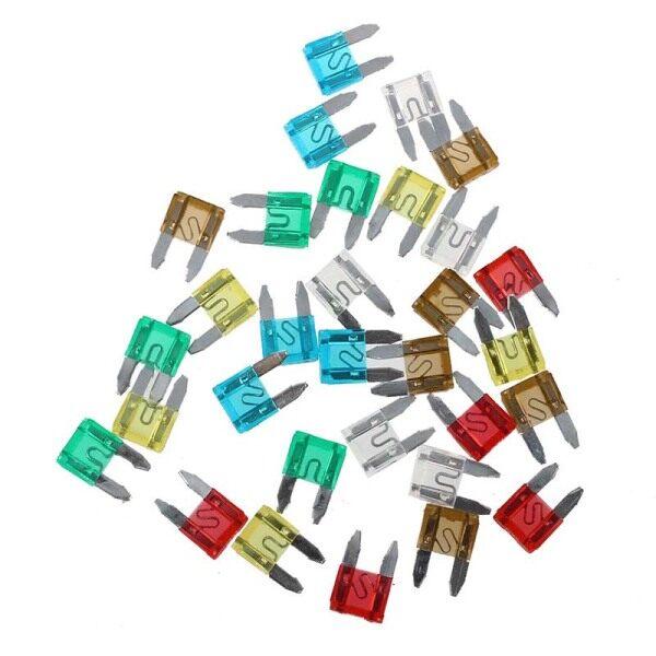 30 × blade fuse plug 7.5 / 10/15/20/25/30 amperes for motor vehicles