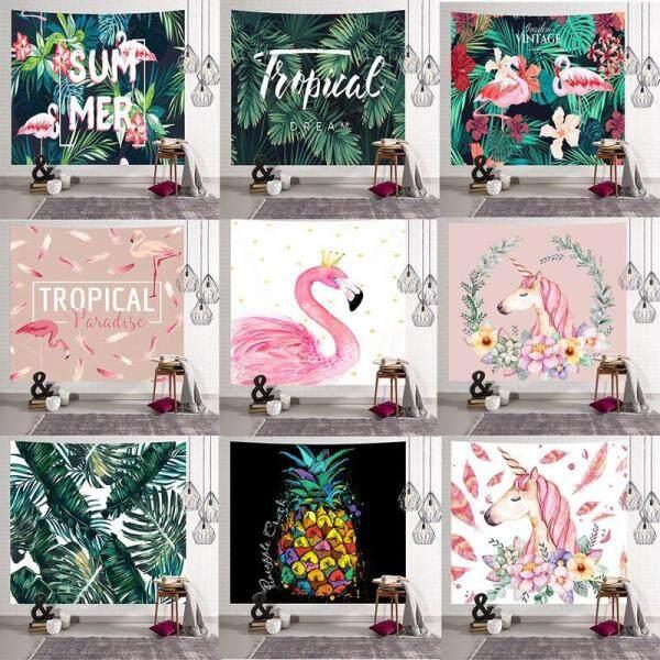 Tapestry Flamingo Unicorn Home Decor Wall Hanging Decor Beach Towel Christmas Gift