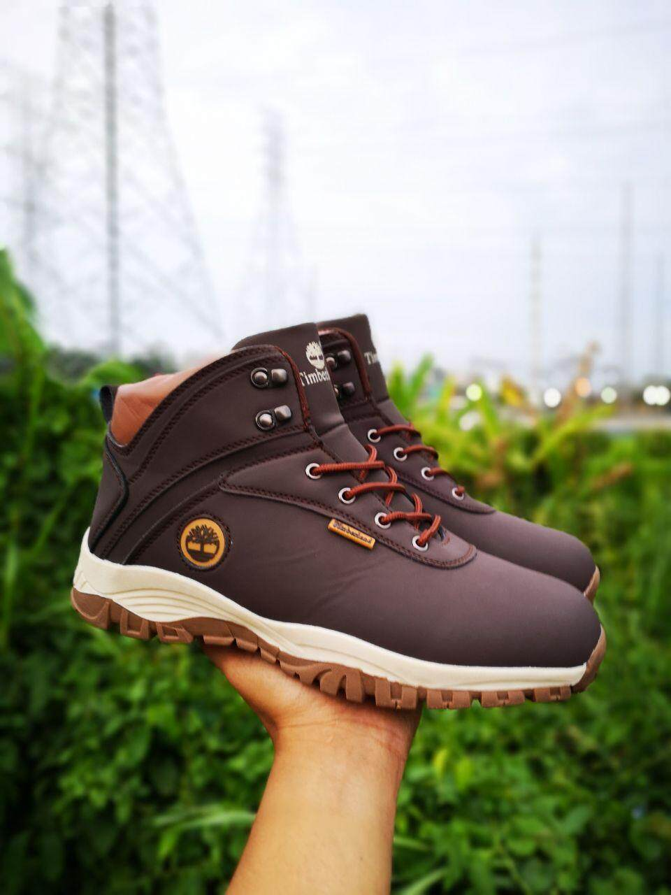 T.i.m.b.e.r.l.a.n.d Boot Hikers Shoes 2.0 Brown,black,dark Brown(free Shiping) By H2r Online Shop.