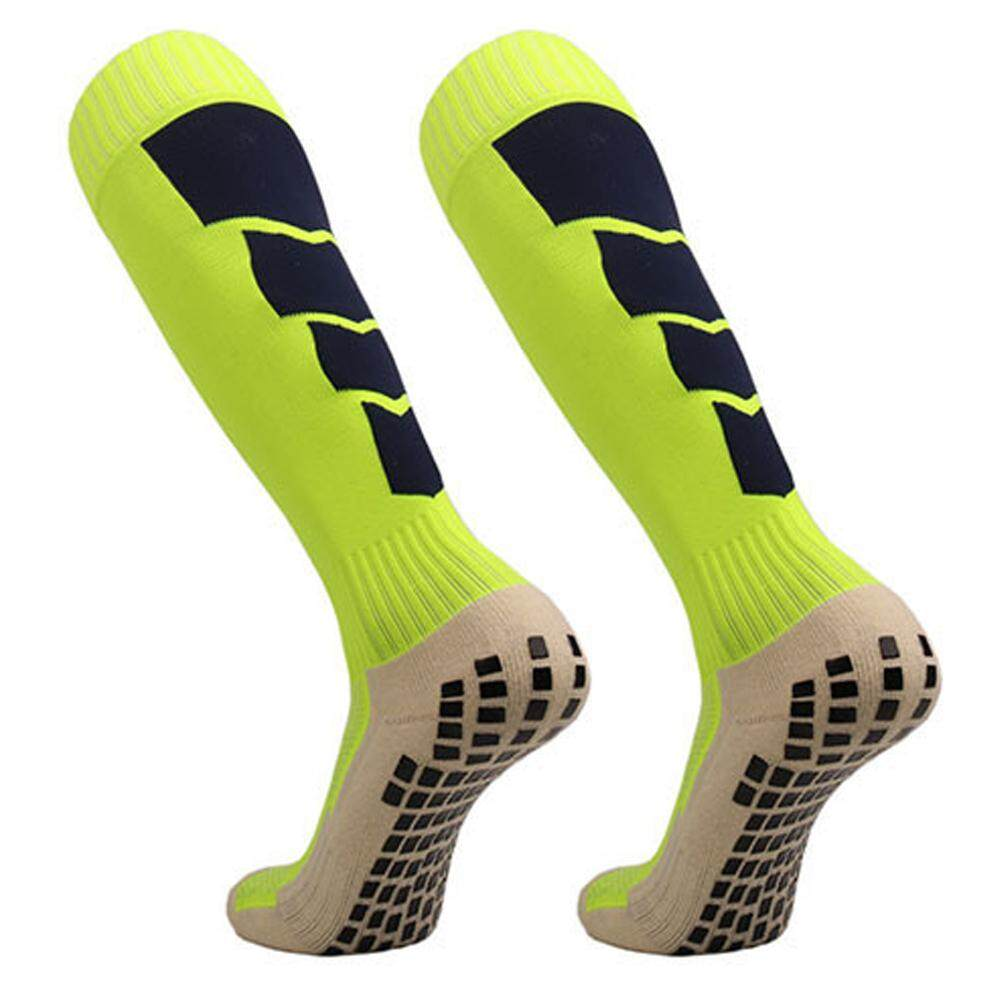 Anti Slip Mens Male Football Socks Soccer Sports Running Long Stockings Leg Compression Stretch Knee High Cotton Silica Gel Underwear & Sleepwears