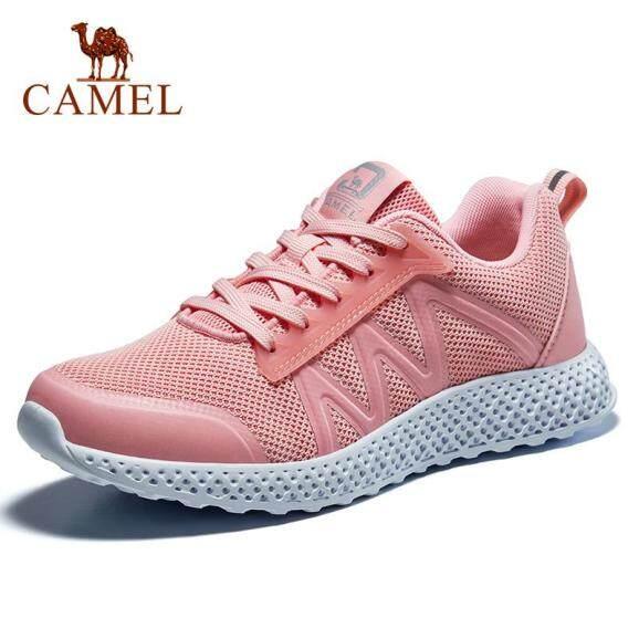 Camel Giày Thể Thao Cho Nữ Giày Chạy Bộ Đơn Giản Lưới Thoáng Khí Giày Thể Thao Đôi Nhẹ A93318687 giá rẻ