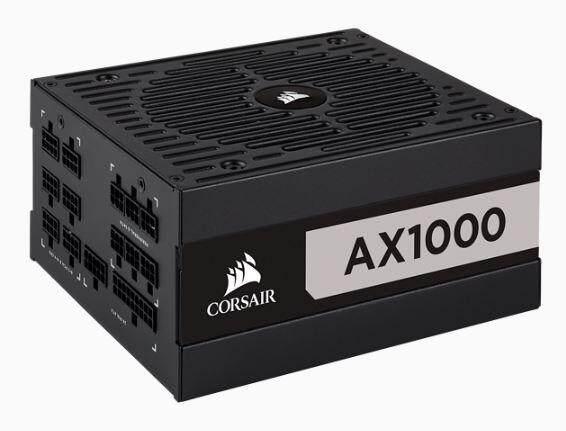 CORSAIR AX1000-1000 Watt 80 PLUS Titanium Full Modular PSU