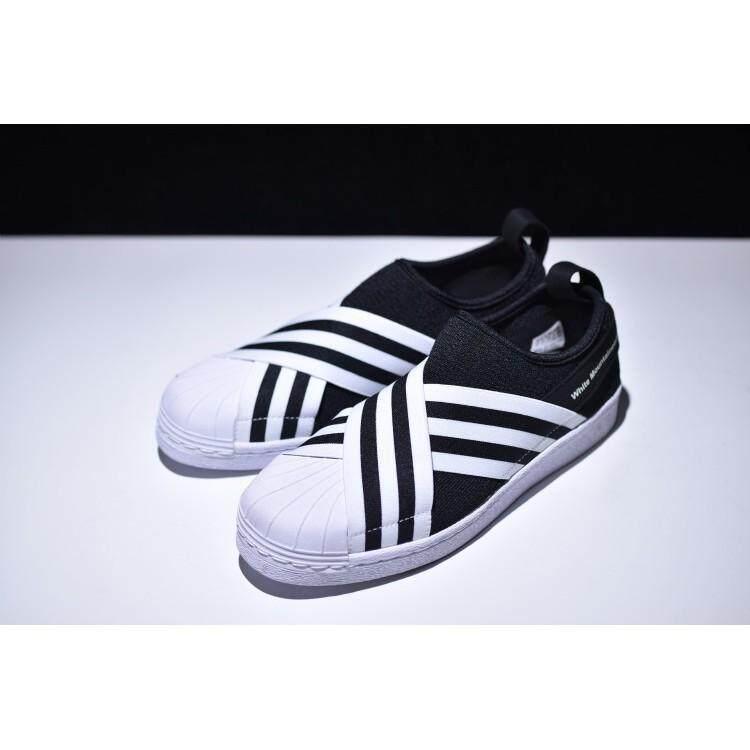 Original Adidas superstar slip on Men Women shoes Trainers flat shoes S81337 Cas