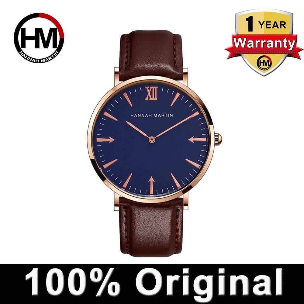 Hannah Martin Fashion Watch Men Business Sport Casual Watches Quartz Waterproof Watch Men Wristwatch (use Japan Movement) Malaysia