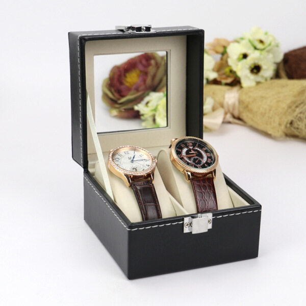 SKMEI Watch Box PU Leather Accessories Box(Without Watch) Malaysia