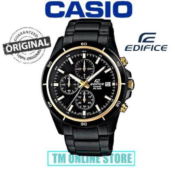 ORIGINAL CASIO EFR-526BK-1A9 EDIFICE MEN CHRONOGRAPH EFR-526BK-1A9 Malaysia