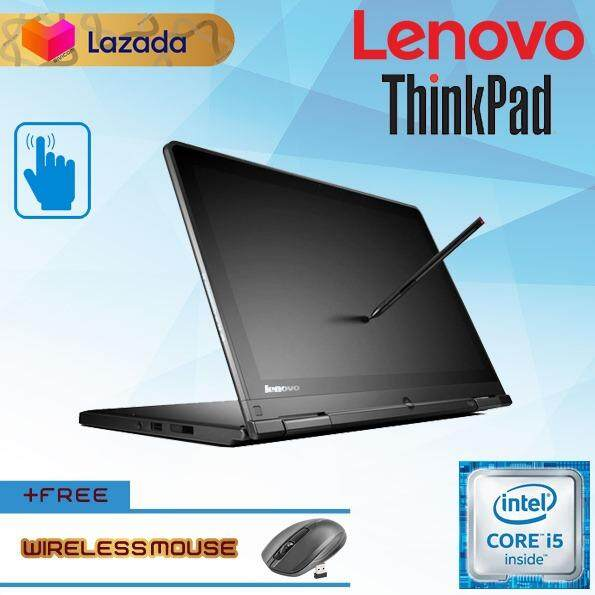 LENOVO THINKPAD S1 YOGA TABLET 2-IN-1 TOUCHSCREEN FHD WITH PEN [CORE I5/  4GB DDR3 RAM/ 128GB SSD/ W10 PRO/ LAPTOP] GRADE A REFURBISHED