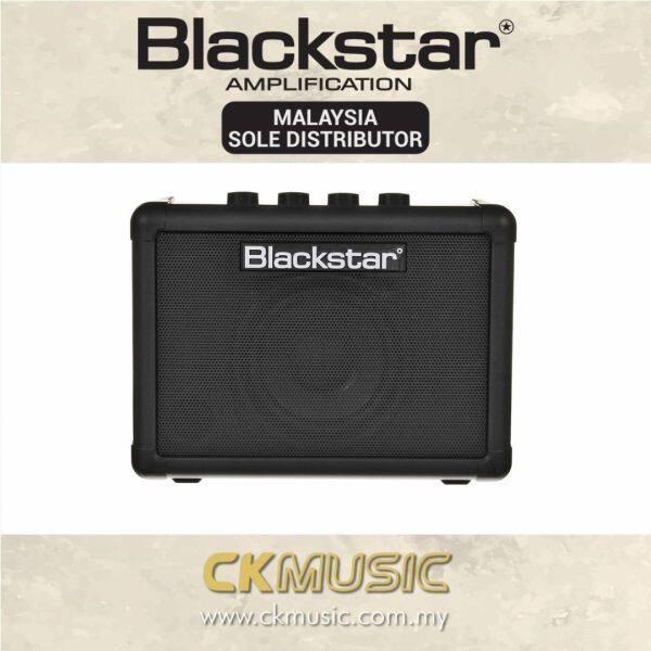 Blackstar Fly 3 Bluetooth (Black) - 1x3 3-watt Mini Electric Guitar Combo Amp with Bluetooth (Fly3 / Fly-3 / FLY3BT / FLY-3BT) Malaysia
