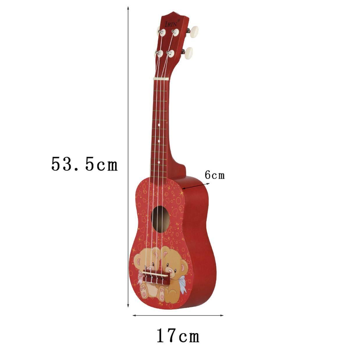 【Freebang】 21 Mini Acoustic Guitar 4 Dây Ukulele Nhạc Cụ Cho Người Mới Bắt Đầu Học Sinh