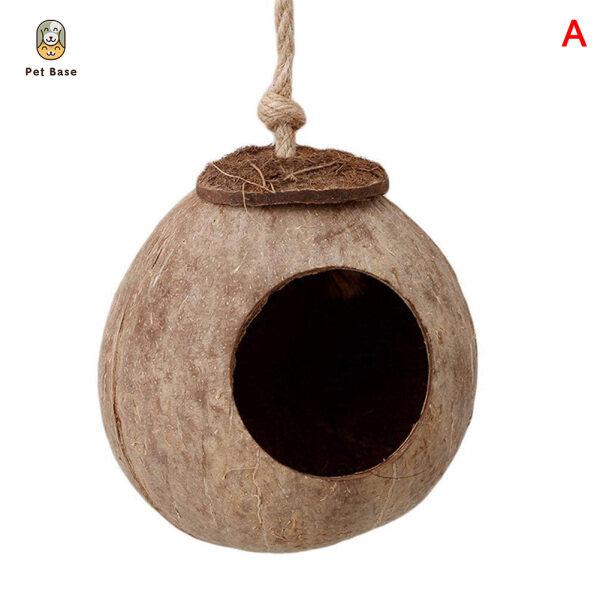 Chim Vỏ Dừa, Chăn Nuôi Tổ, THANG LEO Cho Hamster Vẹt Đu Treo Đồ Chơi