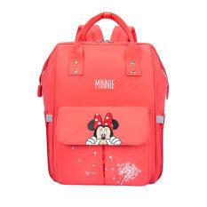 100% Authentic Disneey Baby Diaper Bag USB Backpack Maternity Baby In Diaper Bag Large Capacity Mummy Diaper Bags Travel Nappy Bag