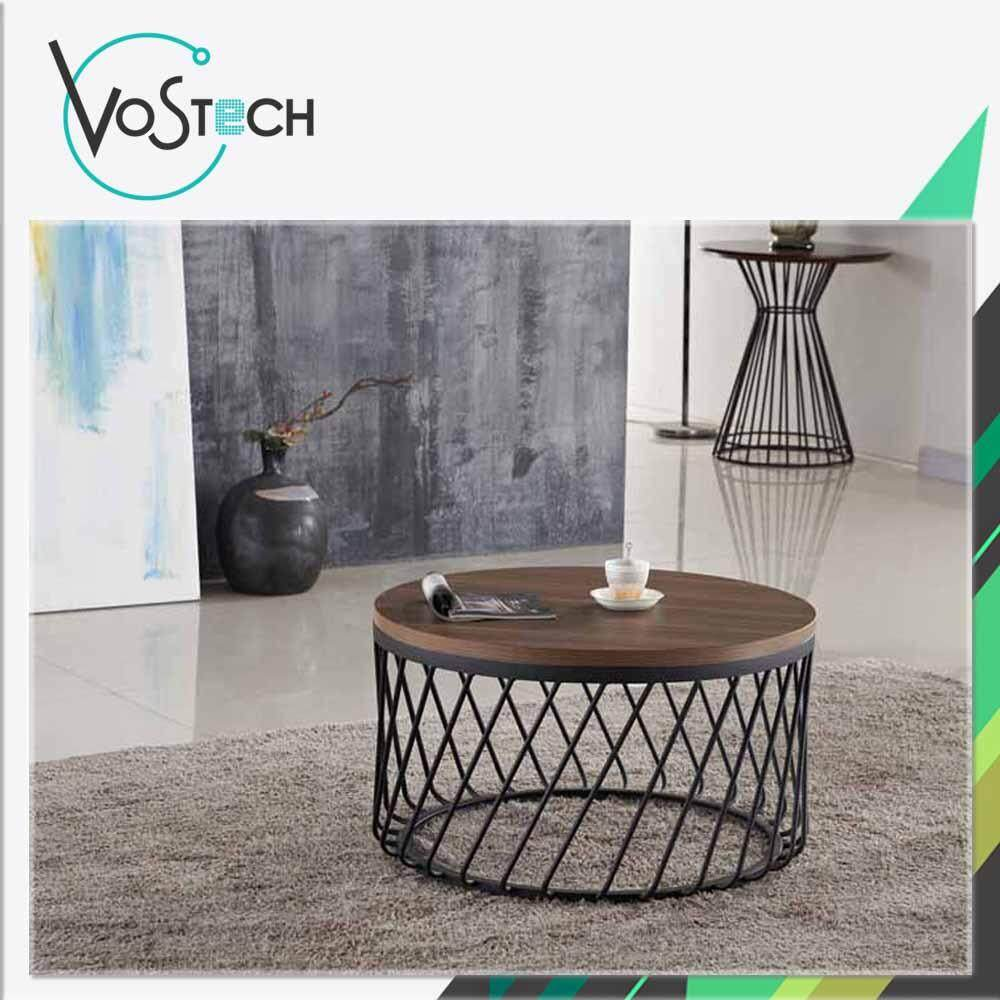 VOS TECH Stylish Round Coffee Table