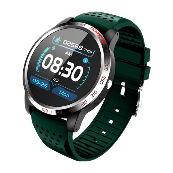 BOZLUN W3 1.3 inch Waterproof Smart Watch Heart Rate Blood Pressure Oxygen Monitor Fitness Sport Tracker For Android Ios Malaysia