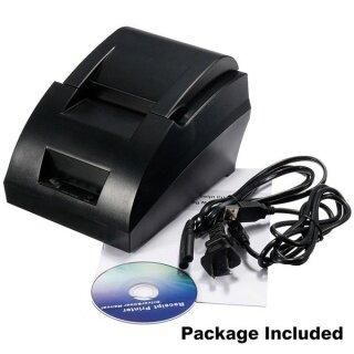 Bộ Máy In Hóa Đơn Nhiệt POS ESC Mini 58Mm USB, 384 Dòng W Giấy Cuộn 12V thumbnail