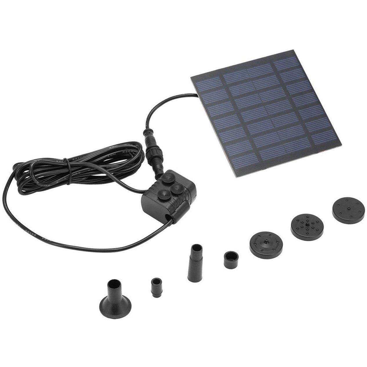 Hot Sale Solar Power Floating Fountain Water Pump For Garden Pond Pool Landscape Pool