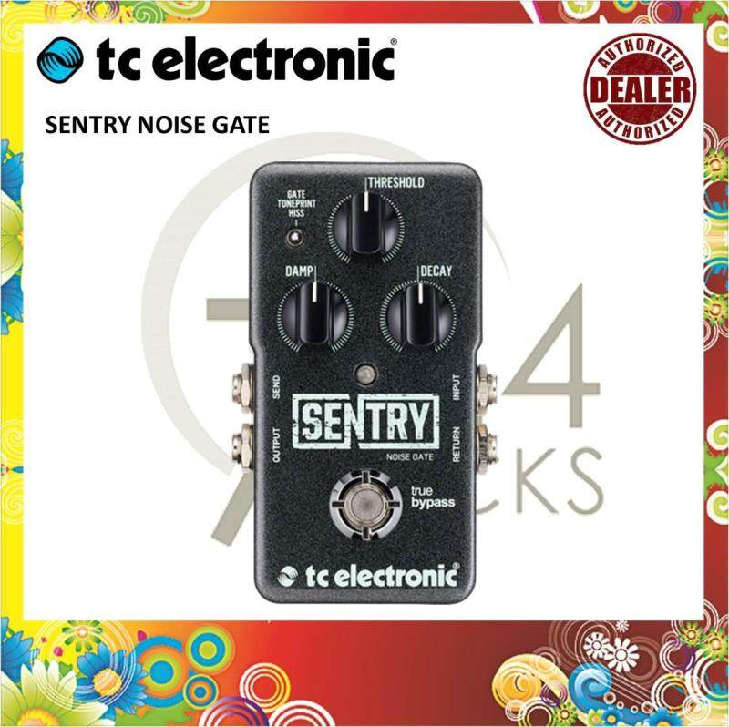 Tc Electronic Sentry Noise Gate Effect Pedal / Noise Gate Pedal Malaysia