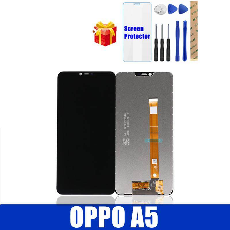 100% Original For OPPO A5 LCD Screen Display Touch Panel OPPO A5 LCD Display Digitizer