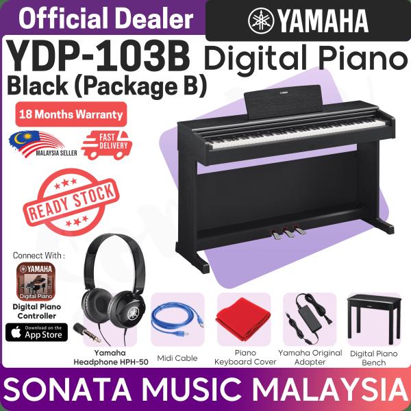 YAMAHA YDP-103 B DIGITAL PIANO NEW UNIT (YDP103 / YDP 103 / ydp103)  Package B Malaysia