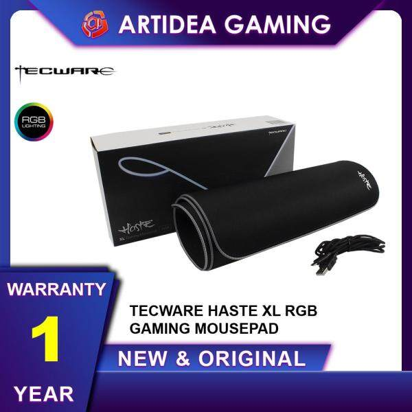 ^ TECWARE HASTE XL RGB GAMING MOUSEMAT [ USB POWER WITH CONTROLLER ] [ 80cm x 30cm x 3cm ] Malaysia