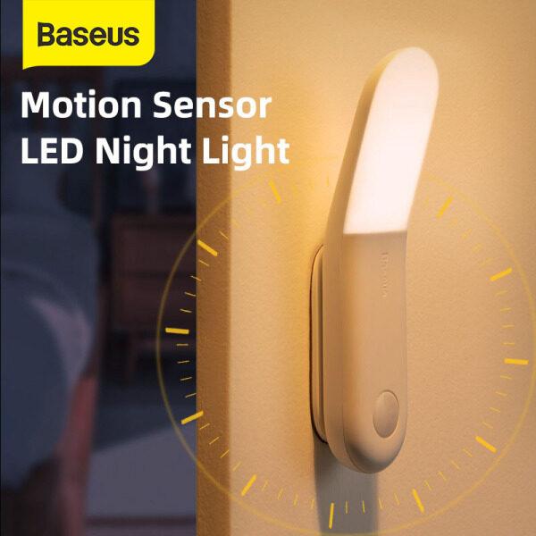 Đèn Ngủ Led Cảm Ứng Baseus, Đèn Ngủ Cảm Ứng Cơ Thể Người Đèn LED Sạc USB Cảm Biến Chuyển Động Lối Đi Ánh Sáng