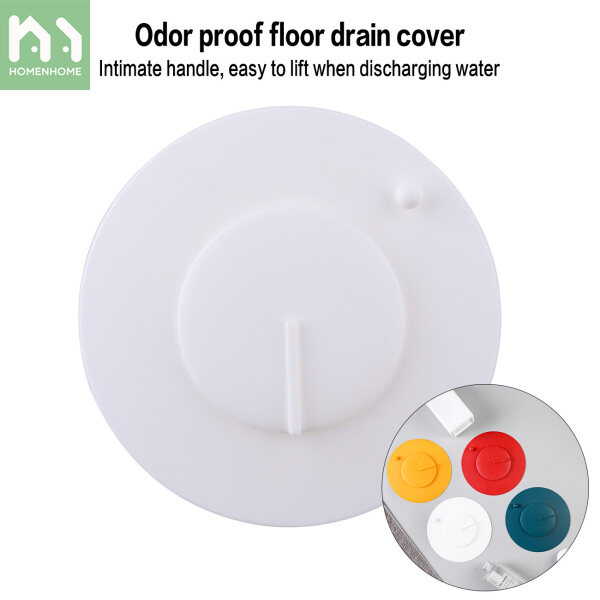 Homenhome Household Floor Drain Cover Silicone Round Filter Sink Deodorizer Sewer Cover Anti-Blocking Sealing Lid Bathroom Toilet