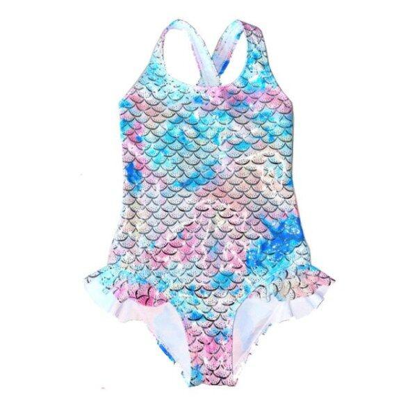 Nơi bán Đồ Bơi Nữ Đồ Bơi Một Mảnh Nàng Tiên Cá Sặc Sỡ Đồ Bơi In Họa Tiết Đồ Tắm Bé Gái Dập Nổi Màu Bạc Lấp Lánh Đồ Đi Biển