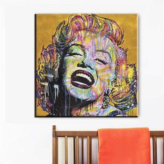 MARILYN MONROE IN PINK DRESS FRAMED CANVAS WALL ART PRINTS HOME DECO PICTURES
