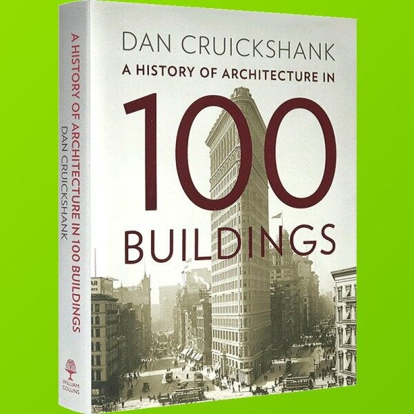 Spot new books 100 architectural history English original A History of Architecture in 100 Buil