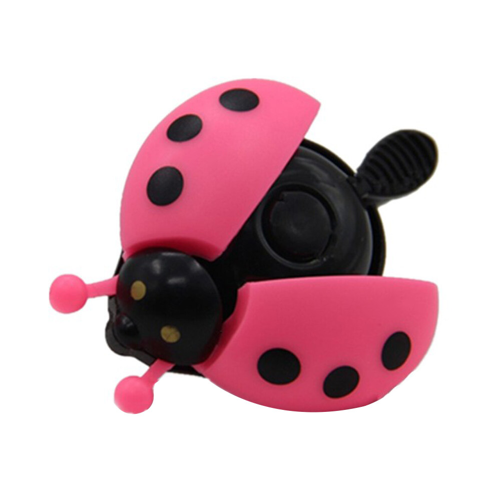 Lovely Kids Beetle Ladybug Ring Bell Handlebar Bicycle Bike Horn Alarm