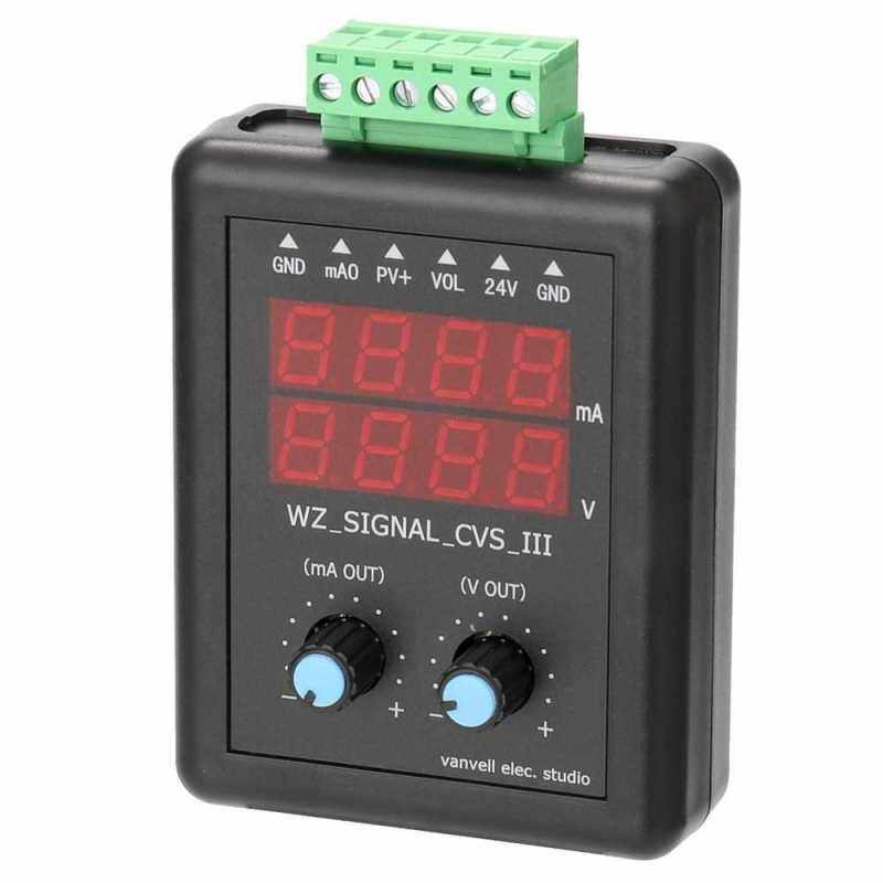 4-20mA 0-10V Signal Generator 24V Current Voltage Transmitter Signal Source Constant Current Source with Display (Standard) Malaysia