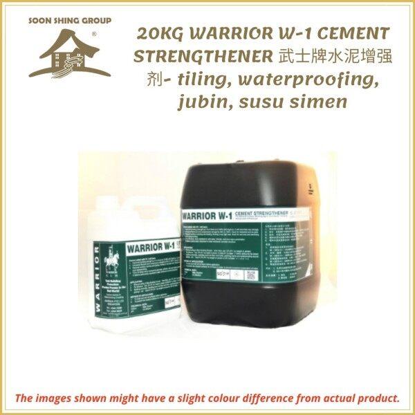 20KG WARRIOR W-1 CEMENT STRENGTHEN- tiling, waterproofing, jubin, susu simen