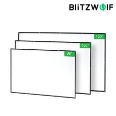 BW-VS2 BlitzWolf 80/100/120 Inch 16:9 1080P Full HD Có Thể Gập Lại Và Nén Dành Cho Rạp Hát Tại Nhà Ngoài Trời Văn Phòng
