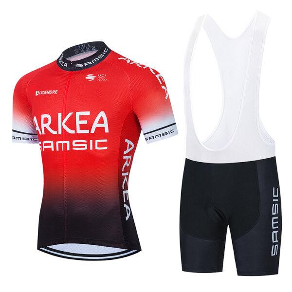 Mua Áo Thi Đấu Đạp Xe ARKEA SAMSIC 2021 Bộ Quần Đùi Đạp Xe 20D Quần Áo Lót Đi Xe Đạp Leo Núi Mùa Hè Cho Nam Ropa Ciclismo