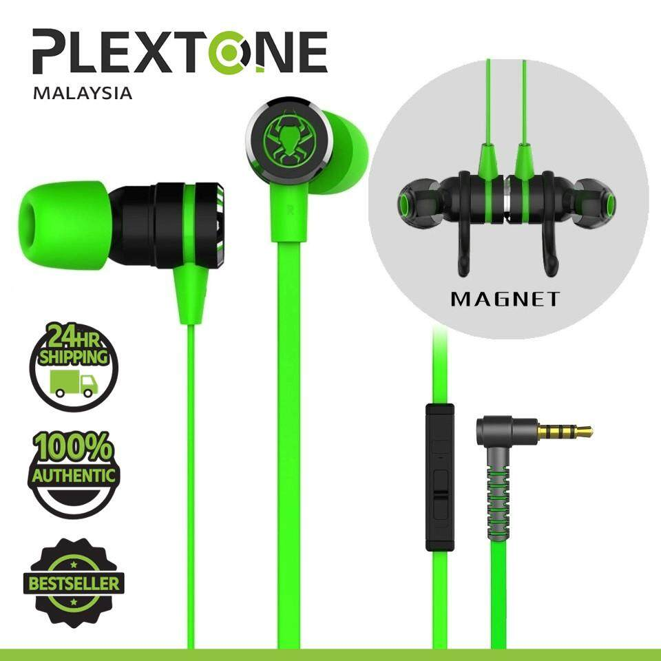 PLEXTONE G20 Double Bass Magnetic Gaming Earphone Headphone Earphones Earbuds Noise Reduction Headset with Mic Sport