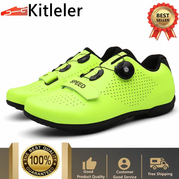 Giày thoáng khí cho nam và nữ làm bằng cao su để chạy xe đạp Kitleler - INTL