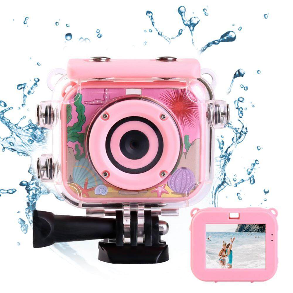 "Mornair Waterproof Underwater Digital Cameras for Snorkeling, 2.7"" TFT Display 1080P & 2.0 Inch HD Display With 3 Brackets, Suitable for Various Scenes"