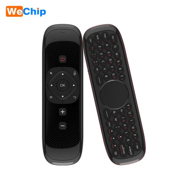 Wechip W2 2.4G Air Mouse Wireless Keyboard with Touchpad Mouse Infrared Remote Control for Android TV BOX PC Projector Malaysia