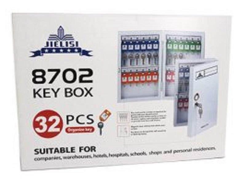 JIELISI Key Box 32 pcs (8702) (Metal Key Box)