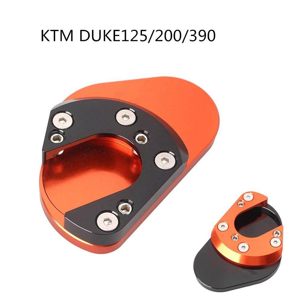 CNC Billet Large Side Stand Plate Base for KTM RC Duke 125 200 390 690